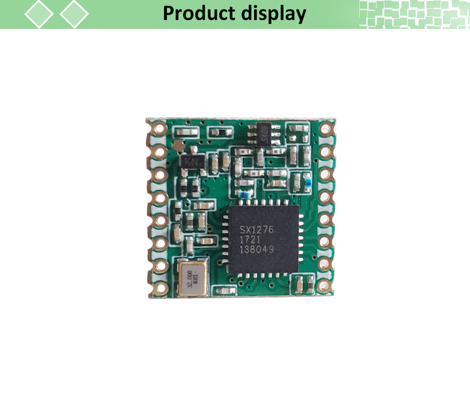 2pcs lorawan Transmitter Module With Original SX1276 Chip For Communication Receiver and Transmitter 8