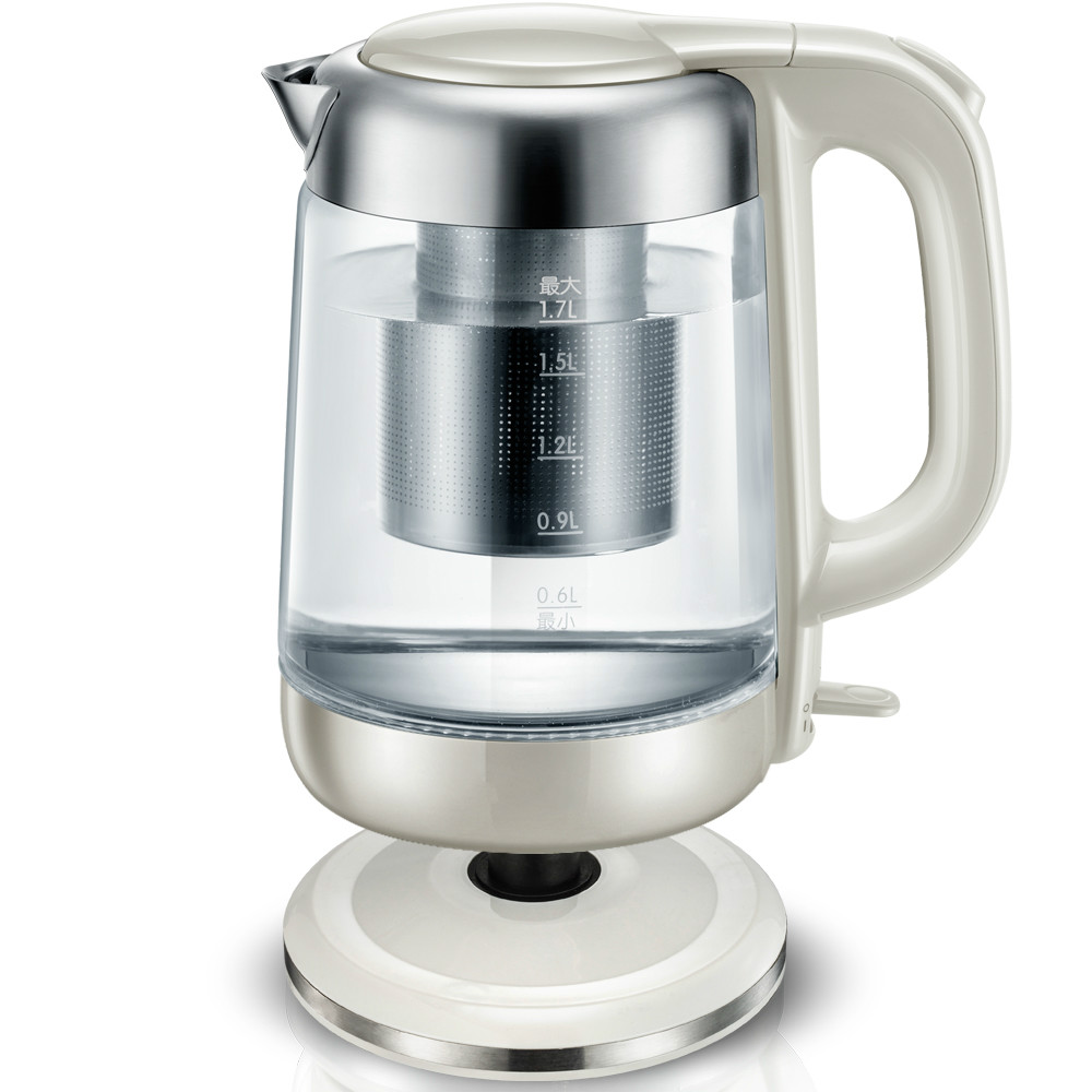 цена на Electric kettle home electric automatic power cut glass kettle Overheat Protection
