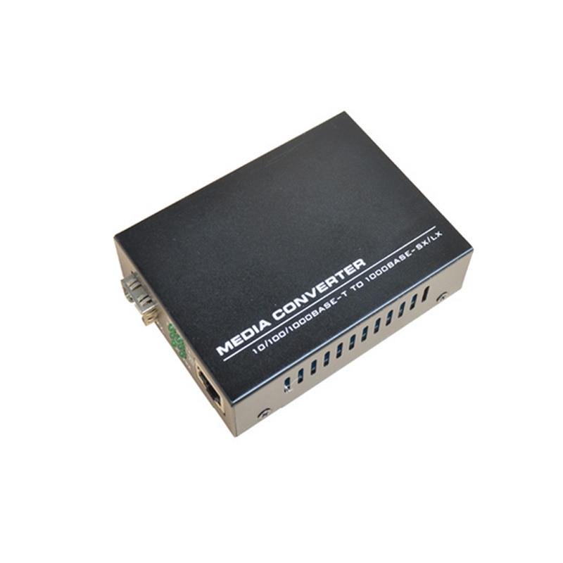 Wysokiej jakości konwerter mediów Fast Ethernet SFP 10/100 / 1000M - Sprzęt komunikacyjny - Zdjęcie 4