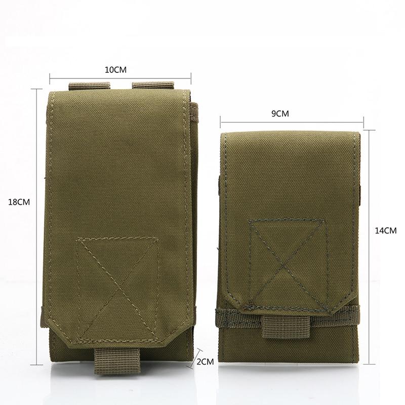Outdoor Tactical Mobile Phone Bag Camouflage Bag Hook Ring Belt Bag Nylon Phone Bag tactical outdoor nylon mobile phone bag for iphone 5 camouflage