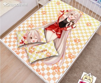 Japanese Anime Cartoon Urara Mattress Cover Fitted Sheet Fitted cover bedspread counterpane