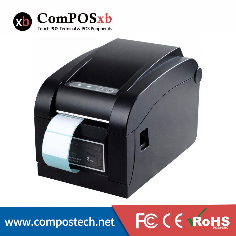 Cheap Price 80mm Direct Thermal Barcode Label Printer, Printed Label DTP350
