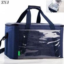 ZYJ открытый банок сумка-холодильник для пикников на вынос теплее еда Тепловая Автомобильная ледяная изоляция хранения на плечо для ланч-боксов Сумка-тоут коробка крутая сумка пакет
