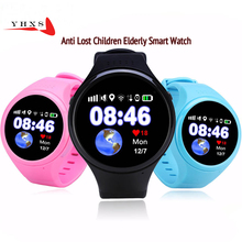 1.22′ Touch Round Screen Smart Location Finder Device GPS WIFI Tracker Watch for Baby Kid Elder Anti Lost Monitor PK T58 Q50 Q90