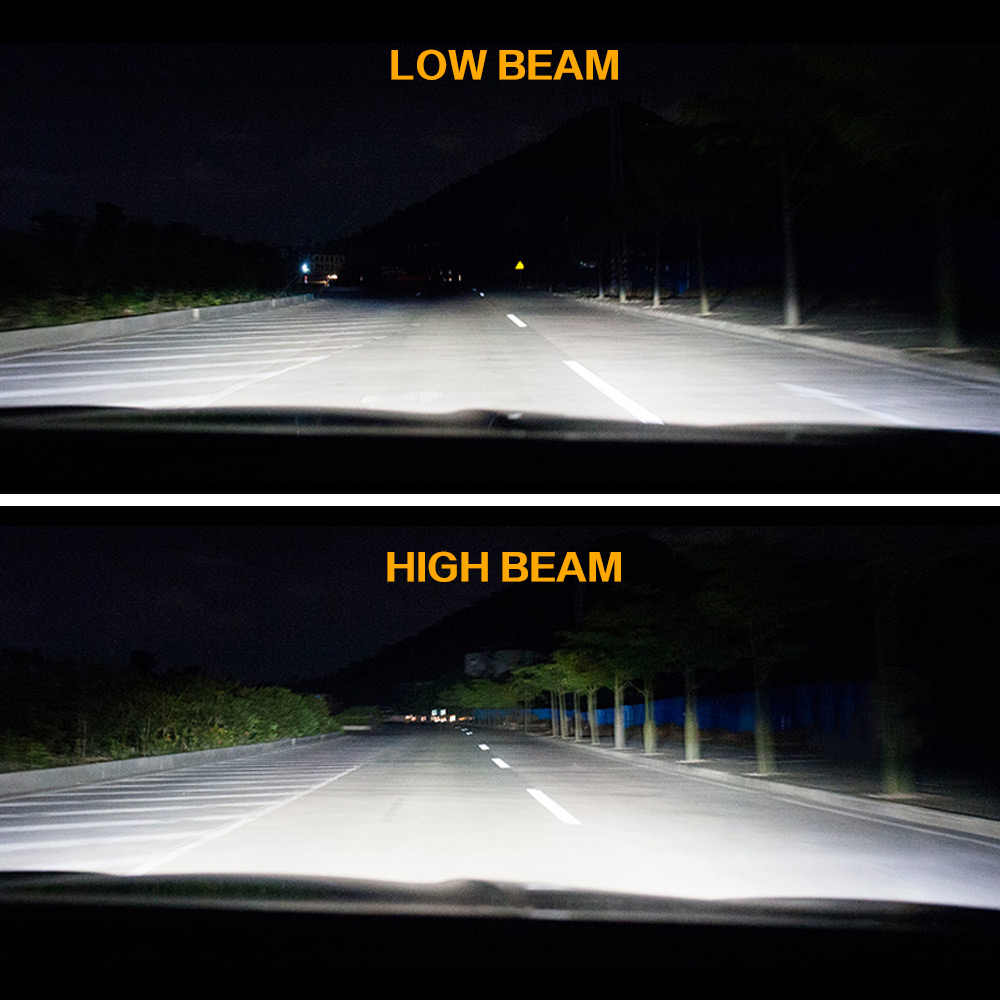 Zdatt H4 LED H11 Headlights Car Light Bulb Fog Lights 12000LM H1 H8 H9 HB3 9005 HB4 9006 Led Lamp 100W 6000K 12V 24V Auto