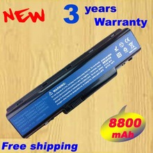 12 ячеек Батарея AS09A31 AS09A41 as09a51 для Acer Aspire 4732 4732Z 4937 ноутбука Emachine D525 D725 ноутбука Батарея + бесплатная доставка