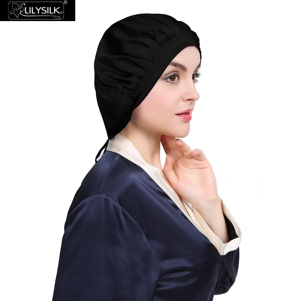 1000-black-silk-sleeping-cap-concise-style-02