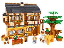 Building Block Sets Compatible with lego new city farm 838 pcs 3D Construction Bricks Educational Hobbies Toys for Kids