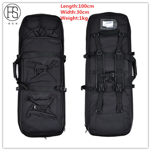 Low Price Good Quality Tactical Military 100CM Rifle Case Gun Bag Airsoft Hunting Paintball Combat Backpack Mochilas Deportivas emerson 85cm tactical military paintball rifle carrying case bag nylon airsoft combat cs field dual gun bag for hunting sport