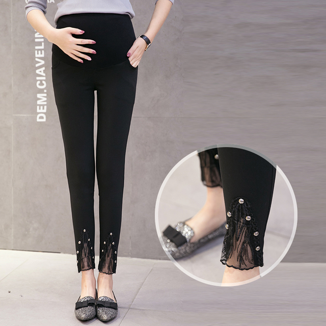 2017 spring and summer new pregnant women pants feet feet pants pregnant women pants pencil pants