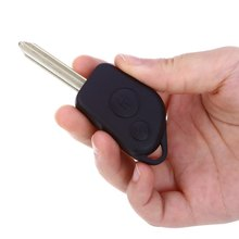 A76 Car Remote Key Holder Case Shell 2-button Design Protecting Cover Suitable for Citroen Protect Buttons From Excessive Wear