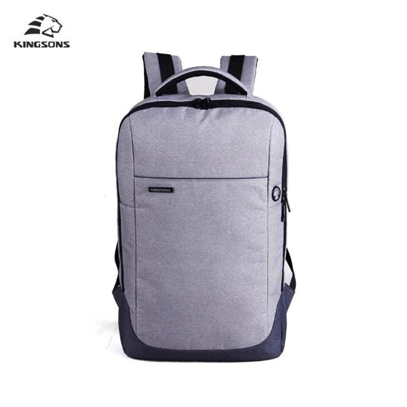 Kingsons Nylon Waterproof Laptop Backpack Men Women Computer Notebook Bag 15.6 inch Laptop Bag School Bags for Boys Girls jacodel laptop bagpack 15 inch notebook backpack travel case computer pc bag for lenovo asus dell notebook 15 6 inch school bags
