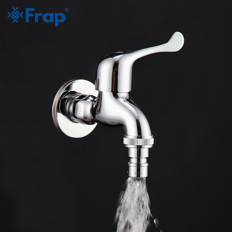 Frap Outdoor Garden Faucet Tap Brass Fast Open Faucet Bathroom Kitchentap Bibcock Laundary Washing Cold Water Faucet IF6334