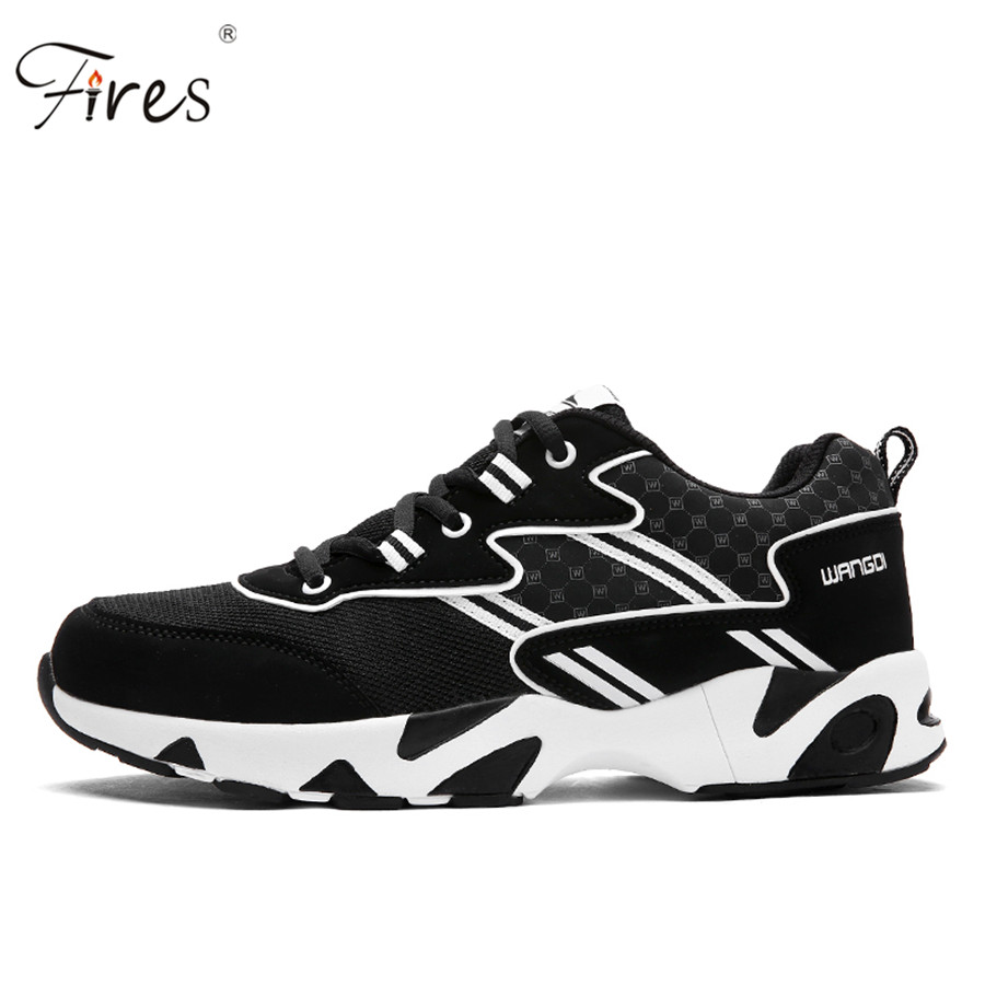 ФОТО Brand Running Shoes For man Sneakers Light Sports shoes 3 Colors Low Zapatillas size 39-44 Flats Walking Jogging shoes  Autumn
