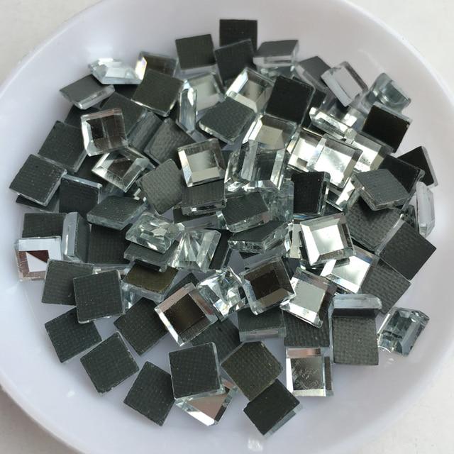 3mm 4mm 6mm 8mm quare Good quality Crystal Clear DMC Flatback Hot Fix  Rhinestone Glass Strass 13a225a5d894
