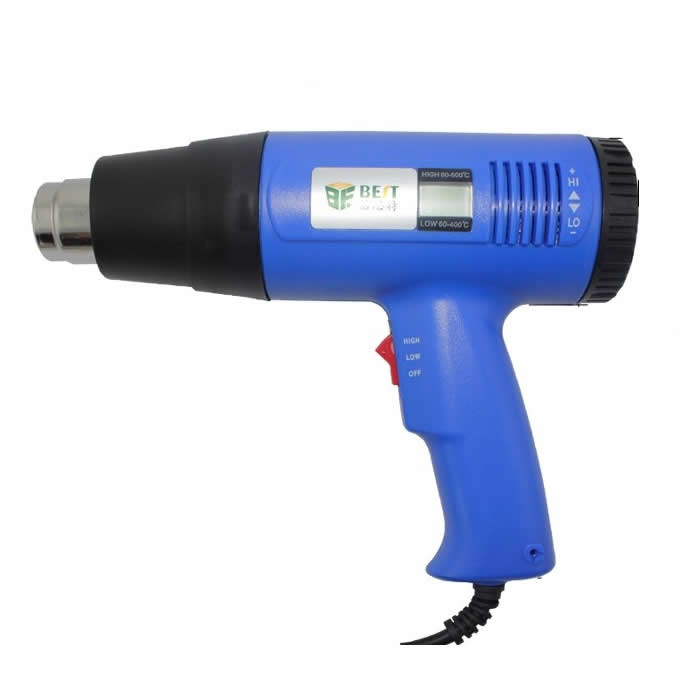 Digital handheld hot air gun, welding gun adjustable thermostat heat gun BST-8016 plastic welding torch hot air gun gj hq7 700w 220v thermostat hot air blower heat gun heater soldering for car bumper heat gun