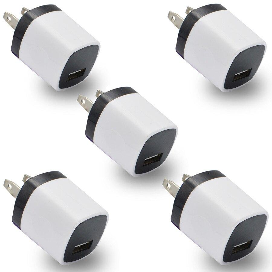 Carprie Новинка; Лидер продаж 5 шт. USB Адаптеры питания США Plug стены зарядное Зарядное устройство для oneplus 3 для Samsung для <font><b>LG</b></font> <font><b>G5</b></font> Мобильный Зарядное уст&#8230;