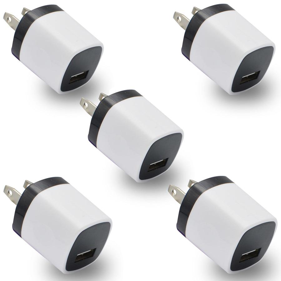 NewCARPRIE Новинка; Лидер продаж 5 шт. USB Мощность адаптер США Plug стены зарядное Зарядное устройство для oneplus 3 для samsung для <font><b>LG</b></font> <font><b>G5</b></font> mobile зарядное устройс&#8230;