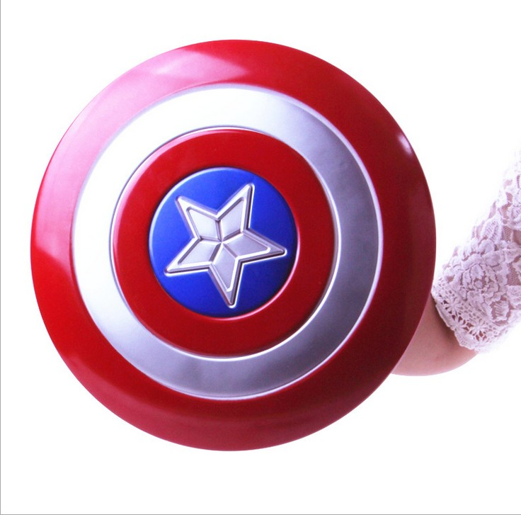 Free shipping,children  party halloween Avengerhero Captain America plastic shield