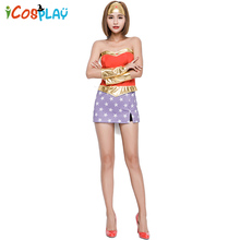 DC Comic Hero Wonder Woman Superman Halloween Stage Show Party Service Holiday Funny for adult