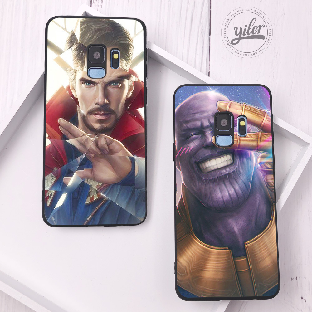 Coque For Samsung Galaxy S10 Plus Case Cute captain for Samsung Galaxy S9 Plus S10e S7 S7 edge S8 Plus Phone Cases for S10 plus in Fitted Cases from Cellphones Telecommunications