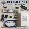 UFI DONGLE + UFi Box potente EMMC Strumento di Servizio di Leggere EMMC i dati dell'utente  riparazione  ridimensionare  il formato  di cancellazione  di scrivere di aggiornamento del firmware EMMC-in Articoli per telecomunicazioni da Cellulari e telecomunicazioni su