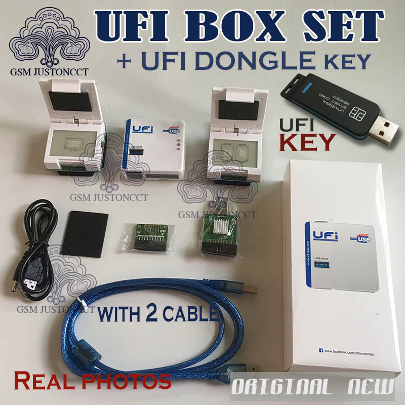 US $408 0 |UFI DONGLE + UFi Box powerful EMMC Service Tool Read EMMC user  data, repair, resize, format, erase, write update firmware EMMC-in Telecom