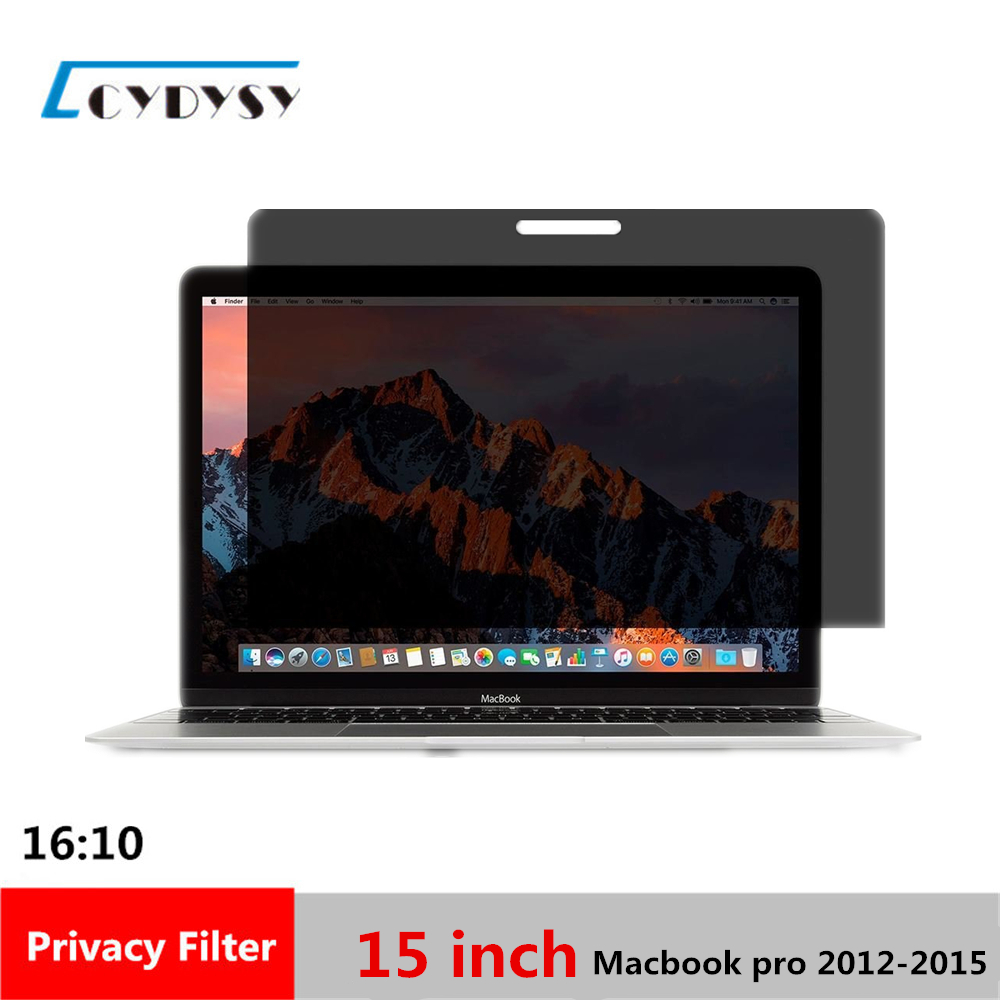 15.4 Inch Privacy Screen Filter For Macbook Pro A1286/a1398 Laptop Latest Technology