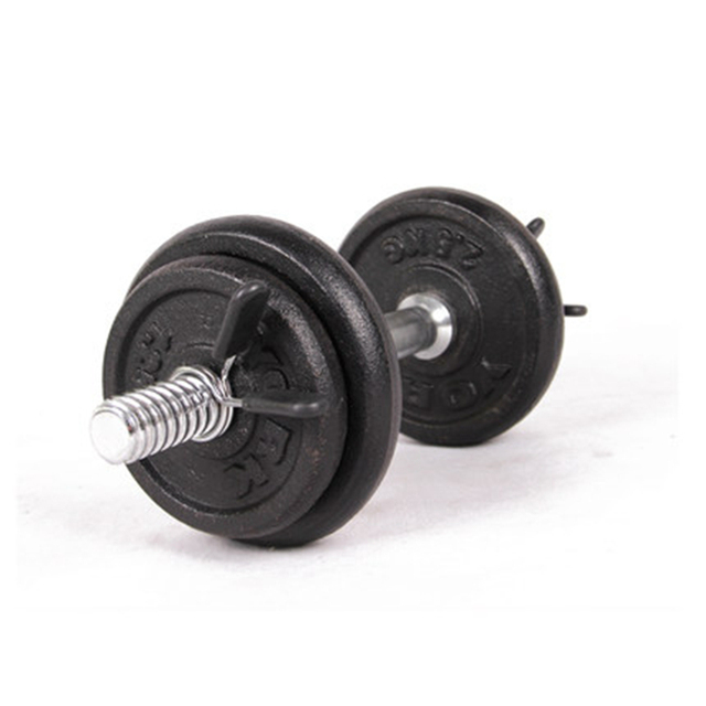 2Pcs 30mm Dumbbell Lock Clamp Spring Collar Clips