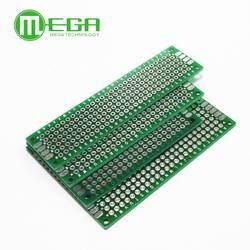 4 шт. 5x7 4x6 3x7 2x8 см Двусторонняя Медь прототип pcb универсальный совет стекловолокна доска для Arduino