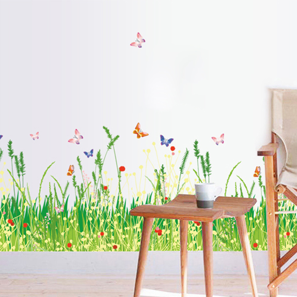 Mariposa Etiqueta de La Pared de Vinilo Pegatinas Pared de La Sala Home Wall Dec