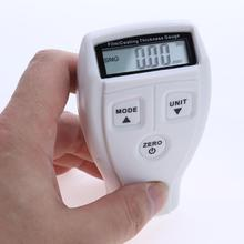 GM200 Coating Thickness Gauge Paint Iron Base Paint Thickness Gauge Galvanized Thickness Measurement White