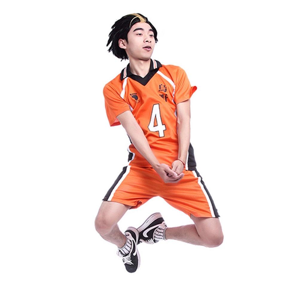 Karasuno High School Volleyboll Klub Hinata Shyouyou Anime Haikyuu - Maskeradkläder och utklädnad - Foto 3