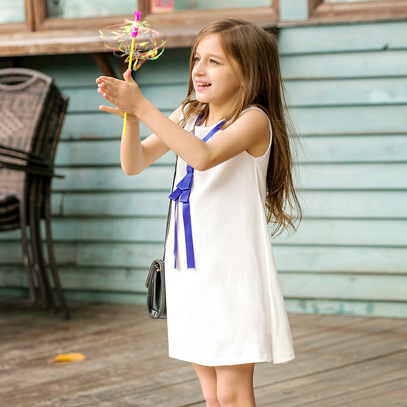 Elegant Kids Summer Evening Dreses For Girls Superstar Cute Baby Girl Dresses High Quality Summer Style Easter Party Dress