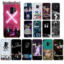 MaiYaCa Monsta X KPOP Boy Group Phone Case for Samsung Galaxy S9 plus S7 edge S6 S10Plus S10lite S10E S8 plus(China)