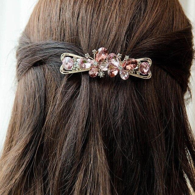 Женские заколки бабочки chimera для волос с французскими кристаллами