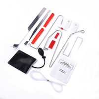 12Pcs/set Auto Air Pump Air Wedge Airbag Set Open Car Door Lock Hand Tools PDR Tool Kit For Car Repair
