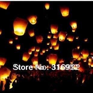 M4 free shipping  Sky Lanterns,Wishing Lantern fire balloon Chinese Kongming lantern Wishing Lamp