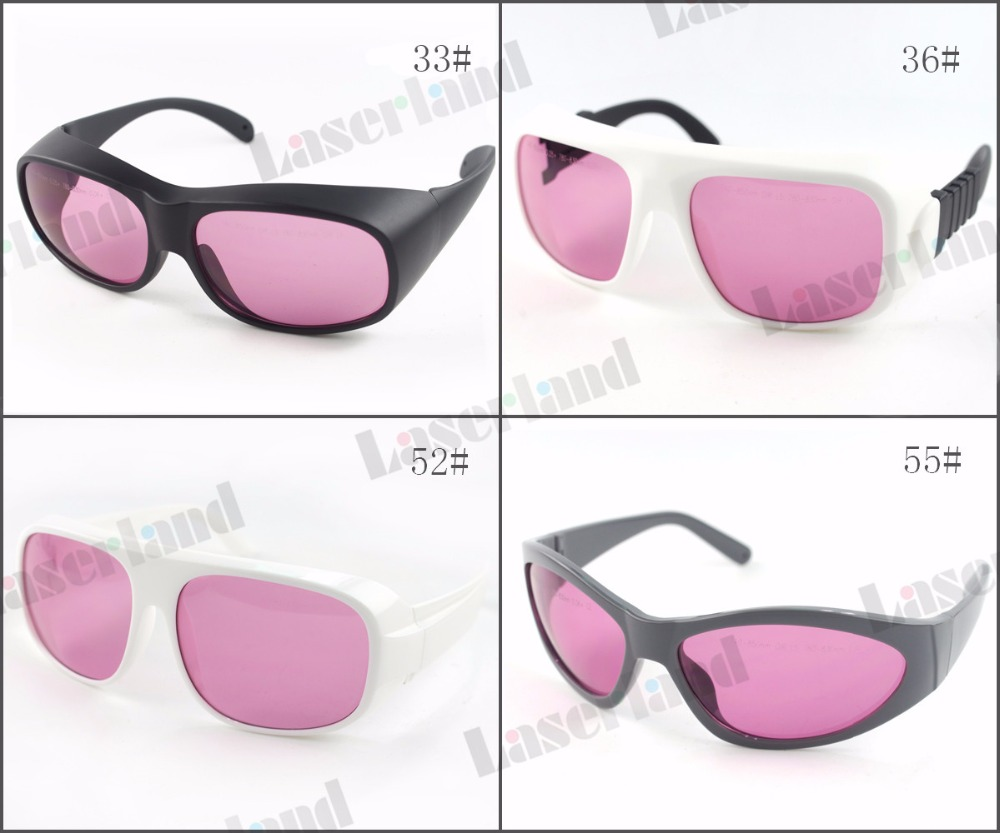 Laserland LP-ATD CE 740nm-850nm OD5+ 780nm 808nm 810nm 830nm OD6+ Ir Infrared Laser Protective Goggles Safety Glasses Eyewear