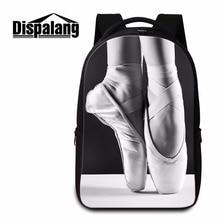 Dispalang дизайнер ноутбук рюкзак для подростков балетки для девочек Школьный рюкзак для студентов высокого класса путешествия Back Pack женские