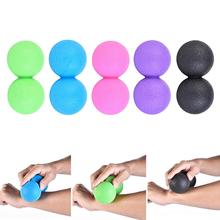 New Massage Ball Double-ball For Body-building Exercise Fascia Training Ball Muscle And Fascia Relaxation For Fitness Pilates vibrating massage ball electric massage roller fitness ball relieve trigger point training fascia ball local muscle relaxation