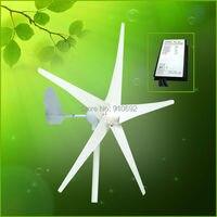 400w Wind Turbine Max Power 600w 5 Blades Small Wind Mill Low Start Up Wind Generator
