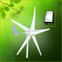 400w wind turbine Max power 600w 5 blades small wind mill low start up wind generator + 600w water proof wind controller