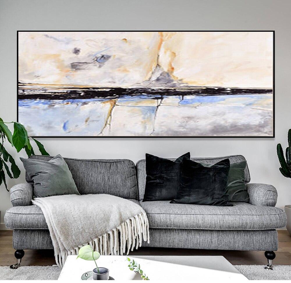 MUYA Abstrakte Malerei acryl Malerei Abstrakte Kunst Wand Gemälde ...