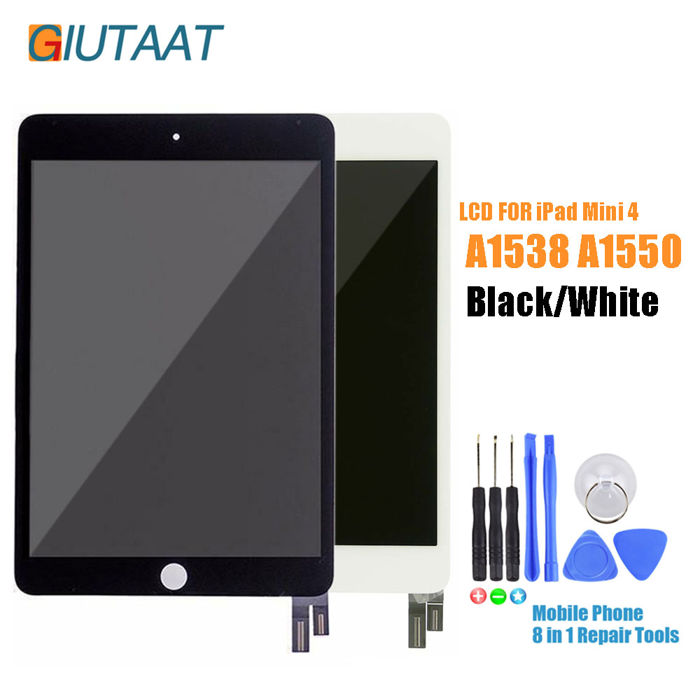 7.9 inch LCD Display Assembly For iPad Mini 4 Mini4 2015 Version A1538 A1550 Touch Screen Digitizer Sensor Glass Panel7.9 inch LCD Display Assembly For iPad Mini 4 Mini4 2015 Version A1538 A1550 Touch Screen Digitizer Sensor Glass Panel