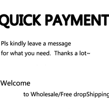 Quick Payment!Thanks For