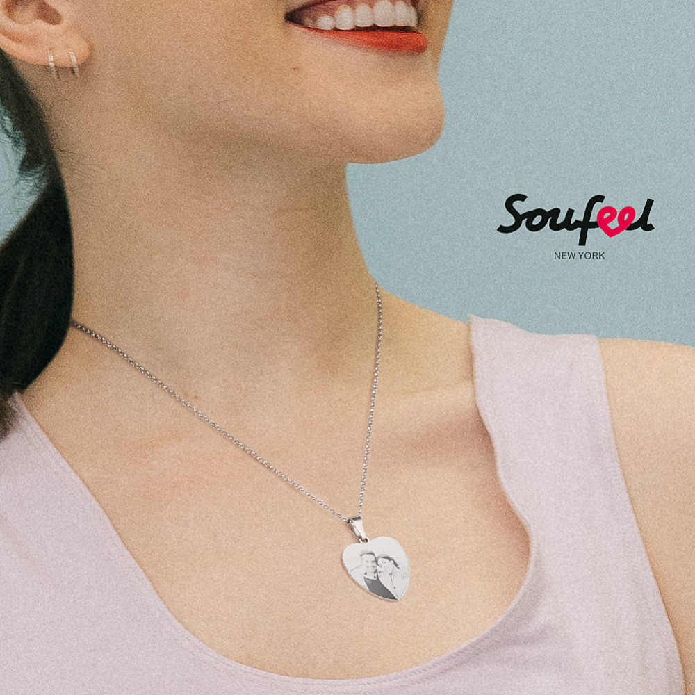 b312e86f1fb30 Detail Feedback Questions about SOUFEEL Necklace Women Heart Photo ...