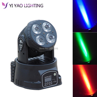 moving head beam stage Light 4x20W RGBW Mobil head light Quad LEDs