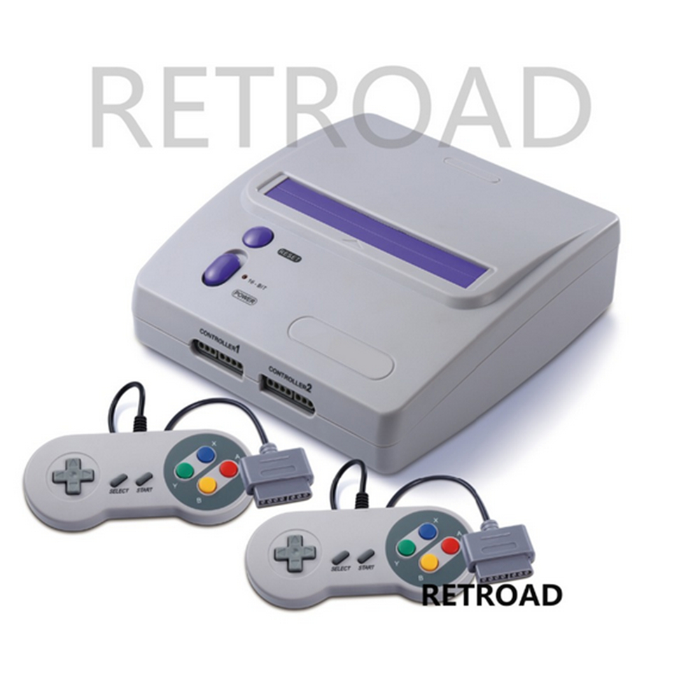 2017 newest RETROAD 16 bit Entertainment TV Game System with S vide 16bit High quality game