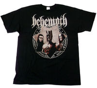 Behemoth Evangelia Amerika Tour 2010 2 Sided Black T Shirt BRAND NEW Size S 3XL 2017